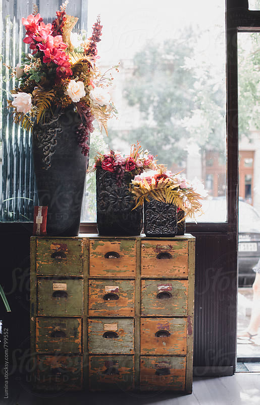 Vintage Flower Shop by Lumina for Stocksy United