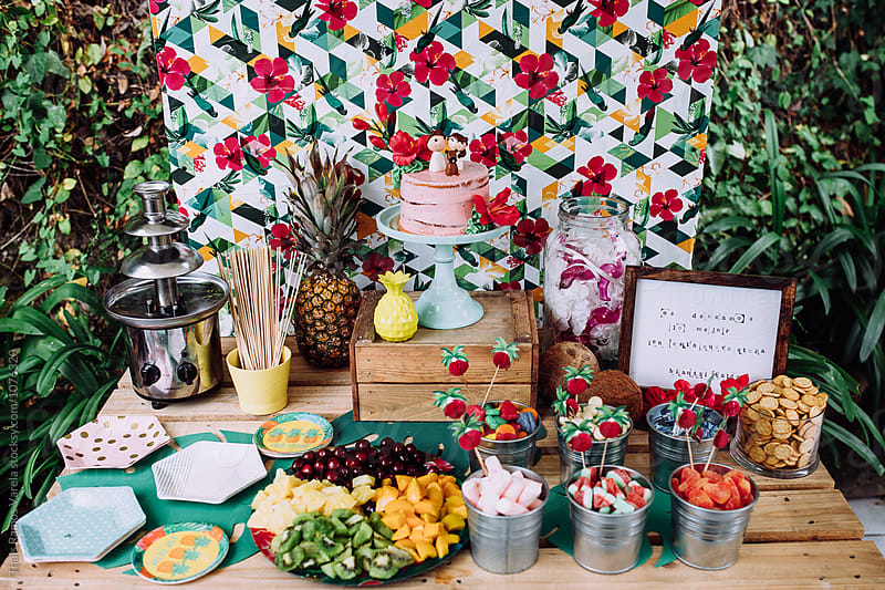tropical candy bar by Thais Ramos Varela for Stocksy United