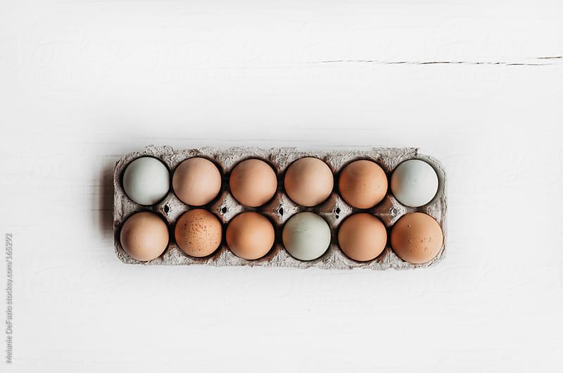 Farm Eggs by Melanie DeFazio for Stocksy United
