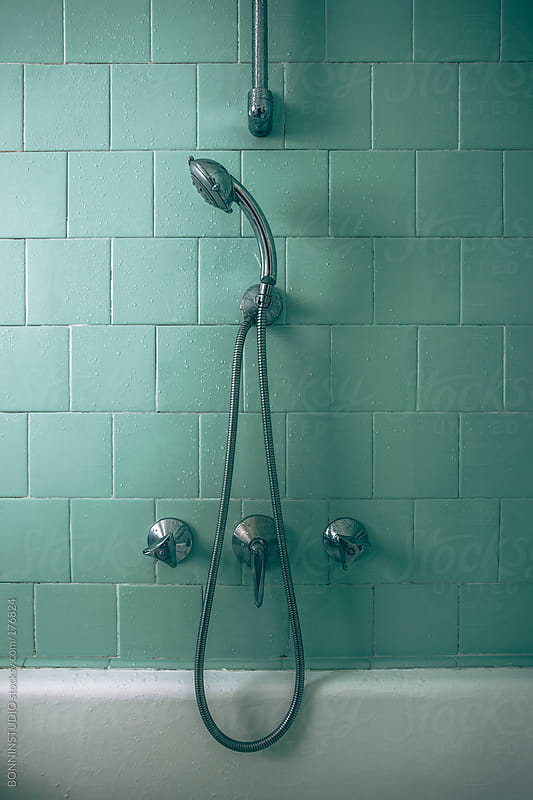 Old shower by BONNINSTUDIO for Stocksy United