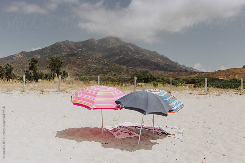 Beach in Corsica by Yann AUDIC for Stocksy United