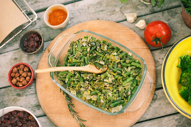 Green Beans Stew by Lumina for Stocksy United