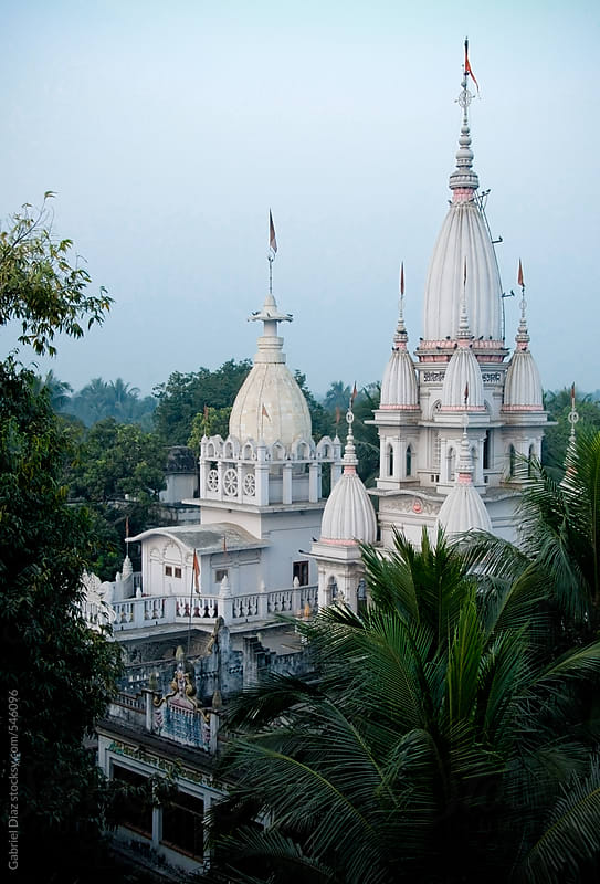 Vaisnava Temple. West Bengal. India by Gabriel Diaz for Stocksy United