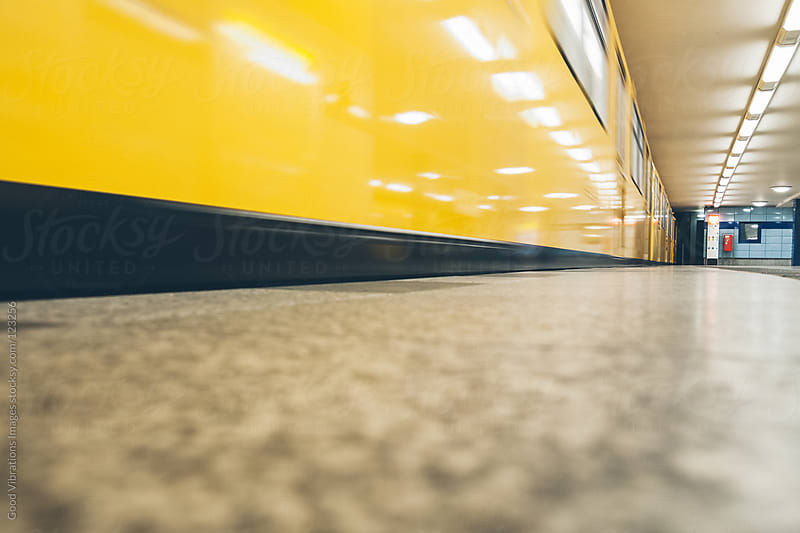 Train Platform by Good Vibrations Images for Stocksy United