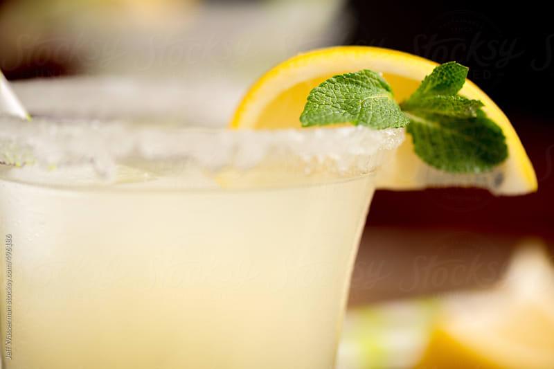 Lemon Cocktail Closeup by Jeff Wasserman for Stocksy United