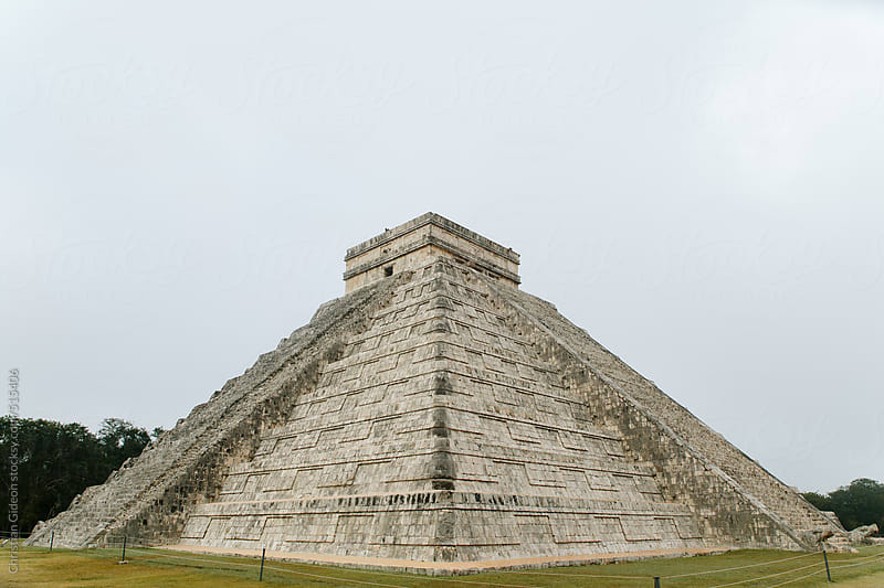 Mayan Pyramid at Chichen Itza by Christian Gideon for Stocksy United