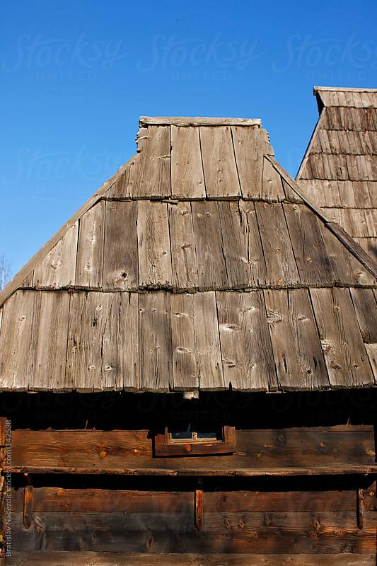 Old wooden house by Bratislav Nadezdic for Stocksy United