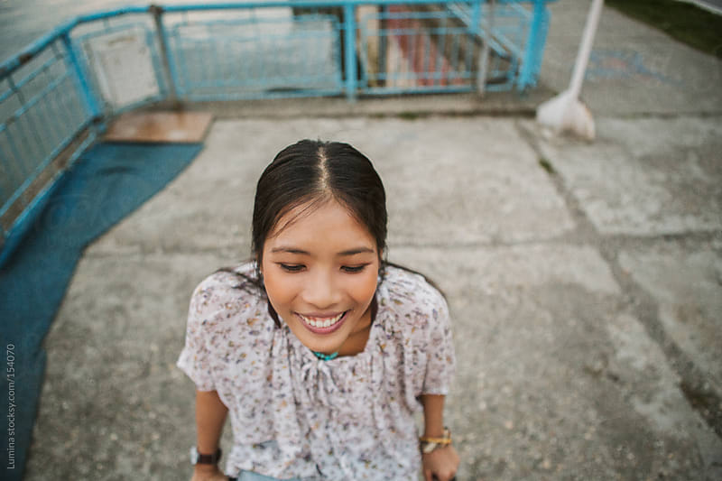 Smiling Asian Woman by Lumina for Stocksy United