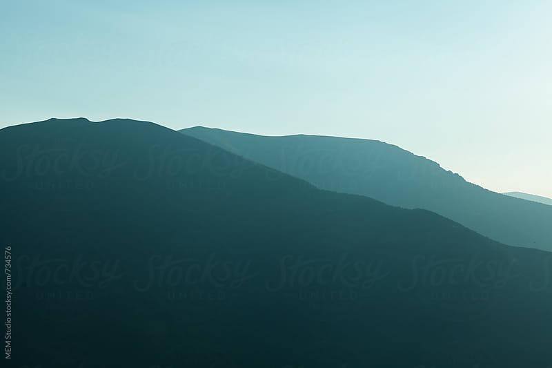 mountain evening by MEM Studio for Stocksy United