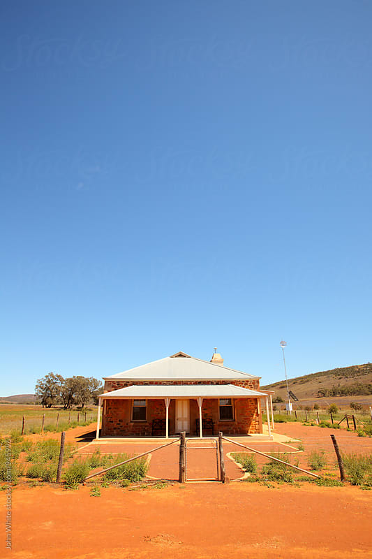 Old stone home in the outback. South Australia. by John White for Stocksy United