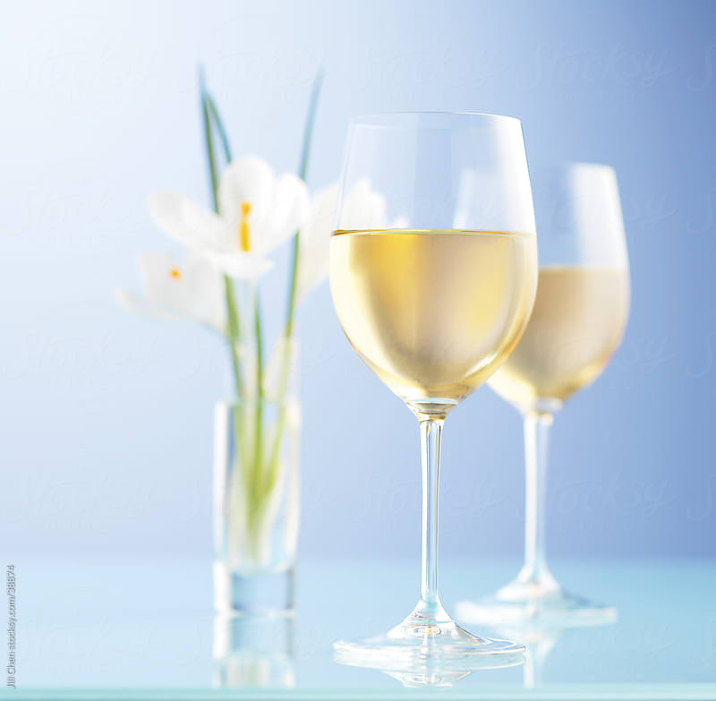 Spring White Wine by Jill Chen for Stocksy United