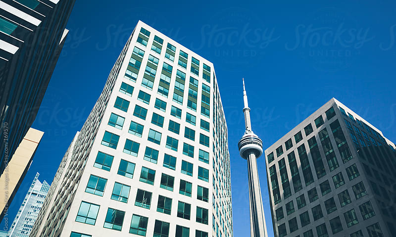 Toronto Downtown by Good Vibrations Images for Stocksy United