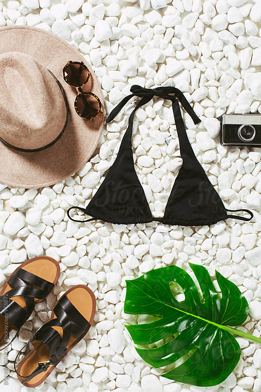Women summer essentials.  by BONNINSTUDIO for Stocksy United