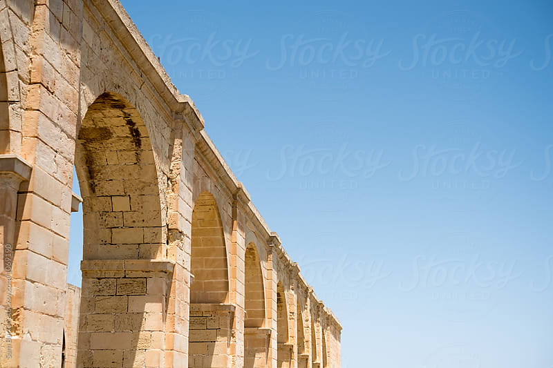 Stone arches by Sam Burton for Stocksy United