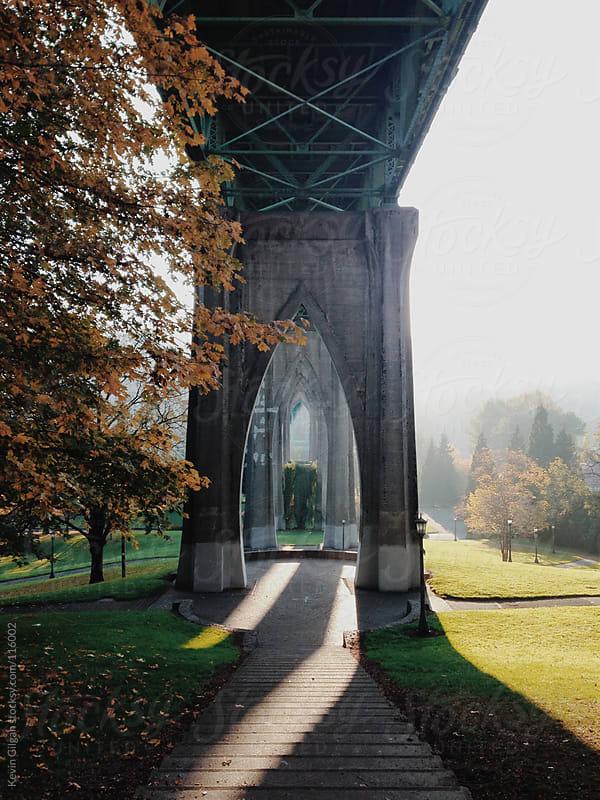 St. John's Bridge by Kevin Gilgan for Stocksy United