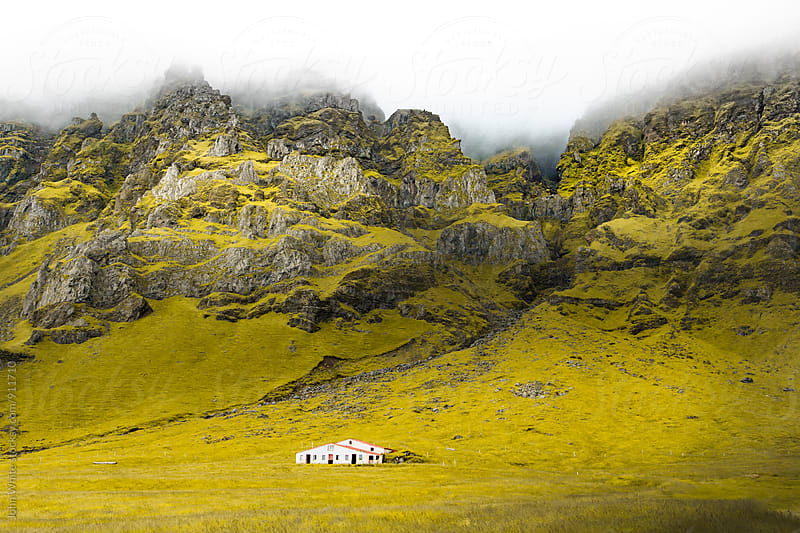 Mountain range on the south coast of Iceland by John White for Stocksy United
