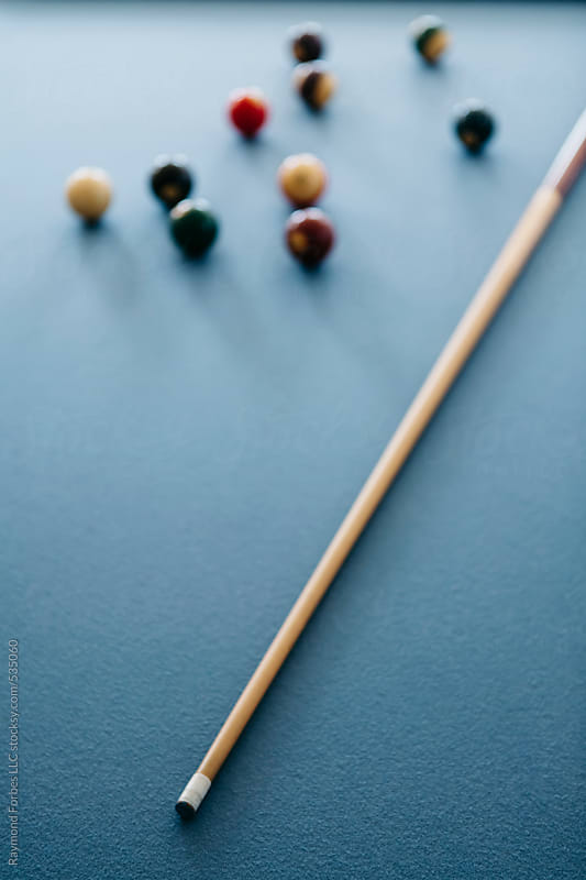 Pool Table by Raymond Forbes LLC for Stocksy United