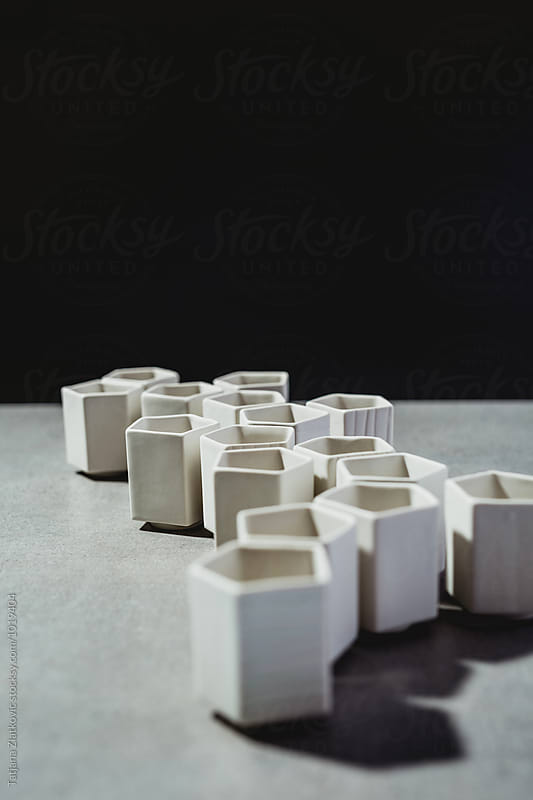 Artistic ceramic cups by Tatjana Ristanic for Stocksy United