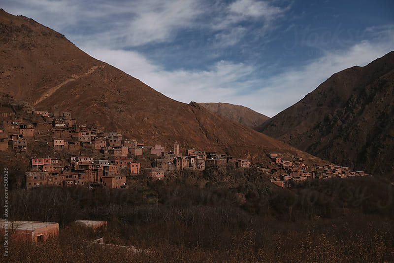 valley of imlil, grand atlas mountains, morocco by Paul Schlemmer for Stocksy United