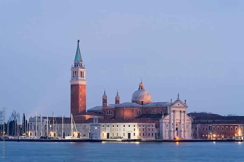 View of San Giorgio Maggiore by Bisual Studio for Stocksy United
