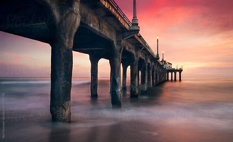 Mystique Pier by Neil Kremer for Stocksy United
