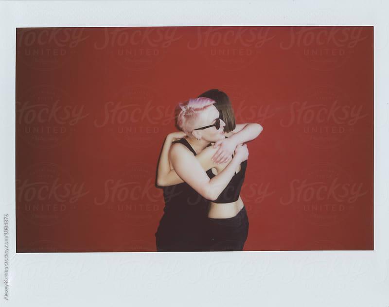 lesbian couple  in love by Vesna for Stocksy United