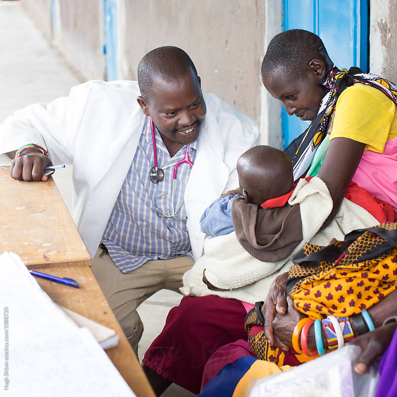 Medical Clinic. Kenya. Africa. by Hugh Sitton for Stocksy United