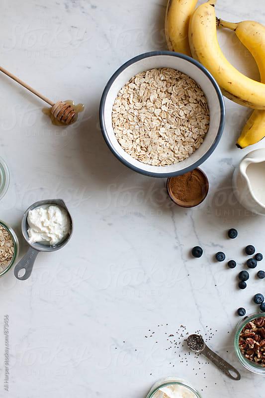 Overnight oats by Ali Harper for Stocksy United