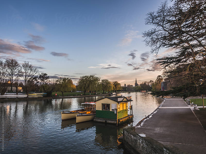 Stratford Upon Avon in the evening by Milena Milani for Stocksy United