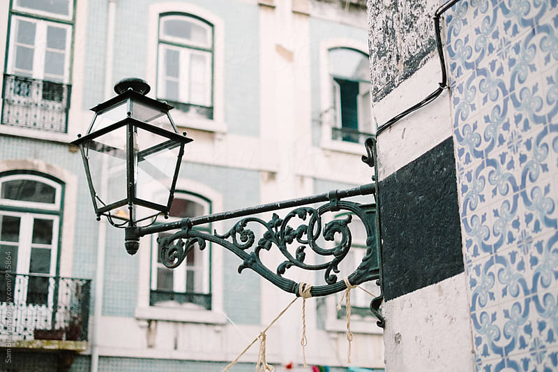 Street Lamp by Sam Burton for Stocksy United