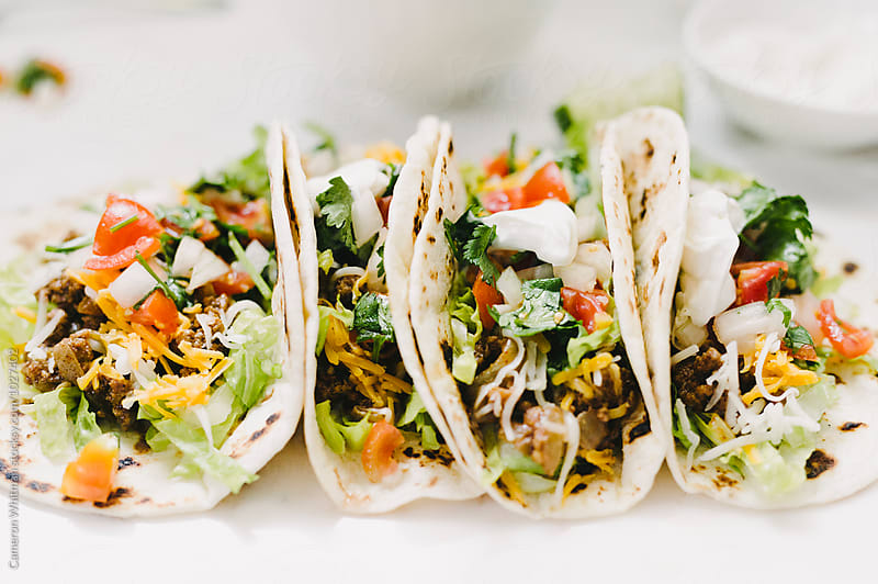 Classic American Tacos by Cameron Whitman for Stocksy United