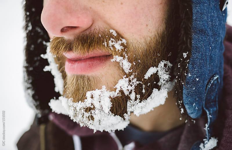 Snow on the beard by GIC for Stocksy United