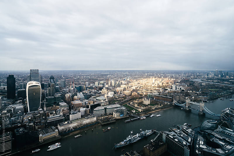 London Skyline by Agencia for Stocksy United