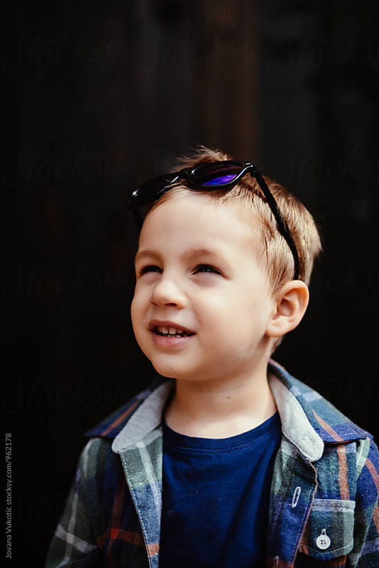 Portrait of a boy by Jovana Vukotic for Stocksy United