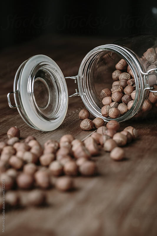 Hazelnuts by Maa Hoo for Stocksy United