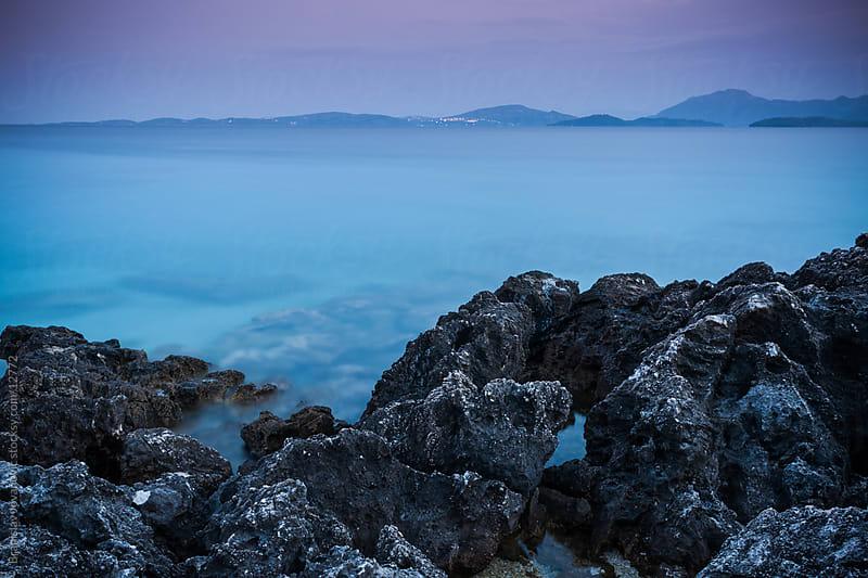 Rock Seascape by Brkati Krokodil for Stocksy United