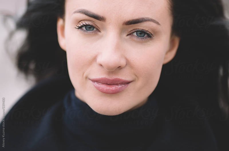 beautiful woman by Alexey Kuzma for Stocksy United