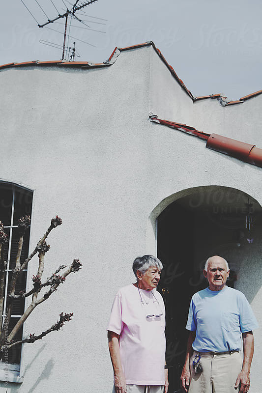 Elderly House Couple by Kevin Russ for Stocksy United