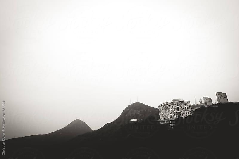 Hillside house by Chris Zielecki for Stocksy United