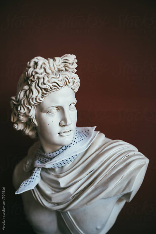 Antic bust by Vera Lair for Stocksy United