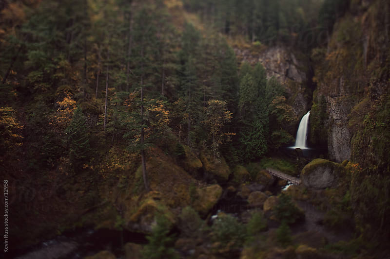 Wahclella Falls by Kevin Russ for Stocksy United