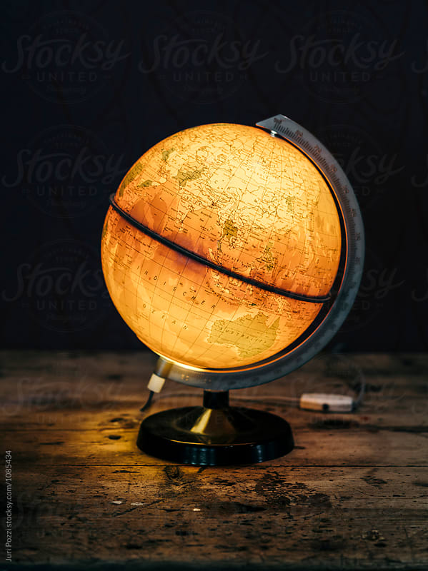 Old Style World Globe by Juri Pozzi for Stocksy United