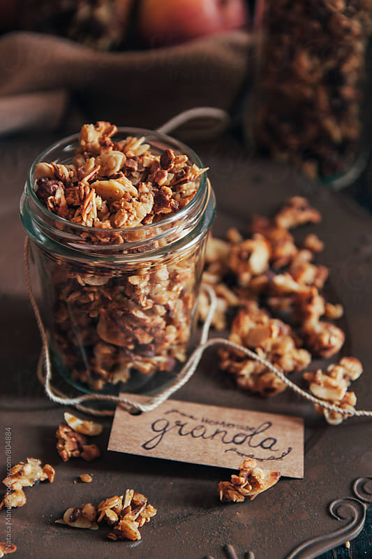 Homemade granola by Nataša Mandić for Stocksy United