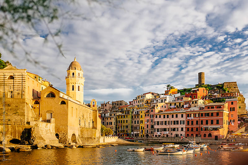 Vernazza, Cinque Terre, Italy by Gary Radler Photography for Stocksy United