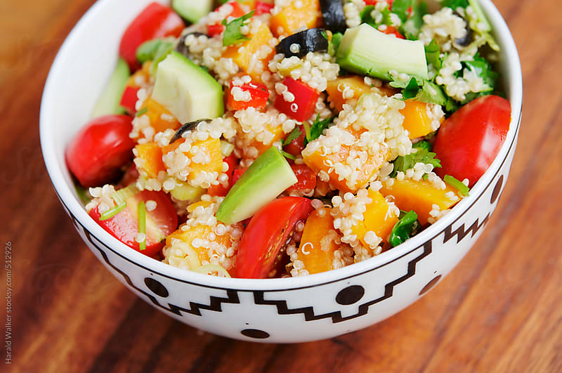 Mexican Sweet Potato Quinoa Salad by Harald Walker for Stocksy United