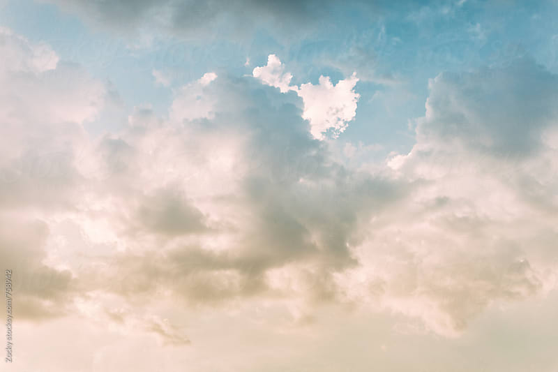 Cloudscape Background by Zocky for Stocksy United