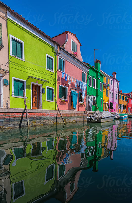 Burano Colors by Edward Adios for Stocksy United