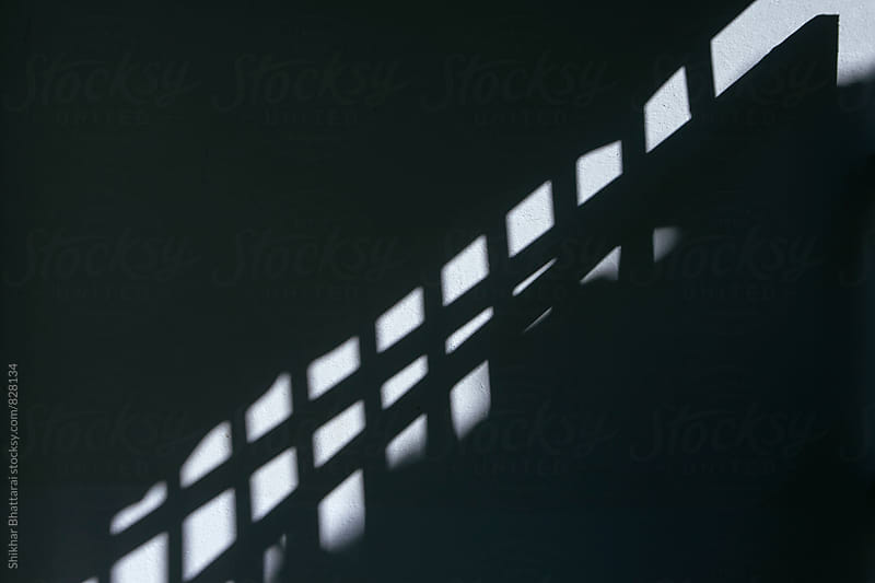 Background of a wall with shadows. by Shikhar Bhattarai for Stocksy United