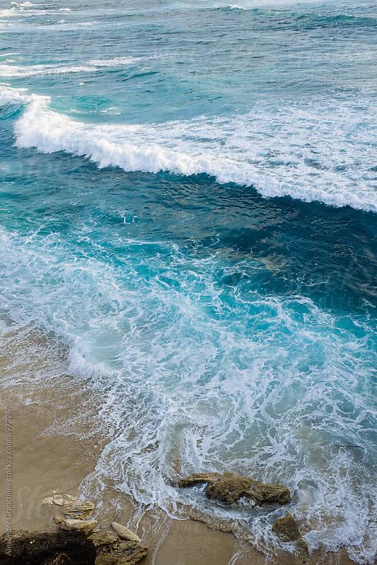 Tropical Seascape  by Alexander Grabchilev for Stocksy United