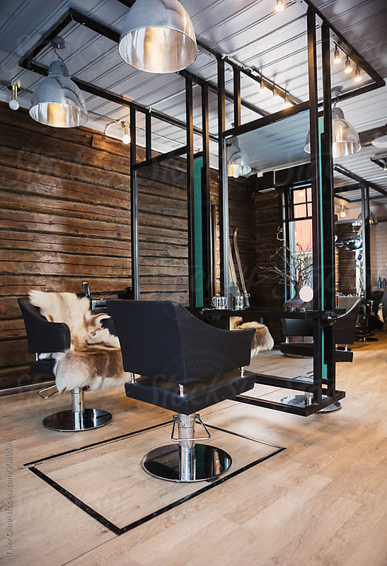 Interior Of Beauty Salon by Tyler Olson for Stocksy United